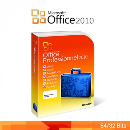 Office 2010 Professionnel 32/64 bits