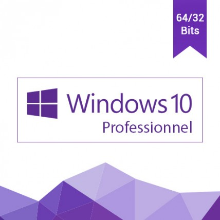 Windows 10 Professionnel 32/64 bits