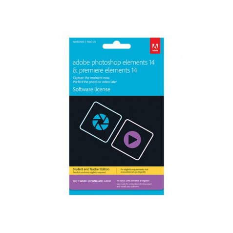 Adobe Photoshop Elements 14 plus Adobe Premiere Elements 14 Student and Teacher Edition